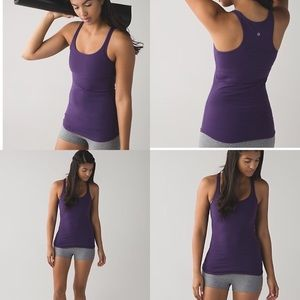 Lululemon Refresh Racer Tank Going Grape